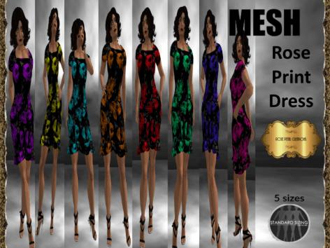 rpc-mesh-rose-print-dress