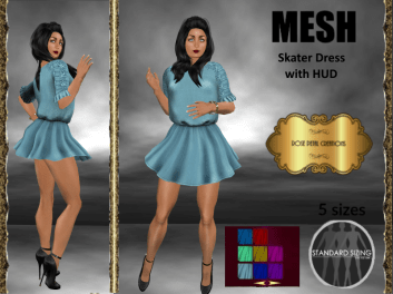 [RPC] MESH ~ Skater Dress with HUD
