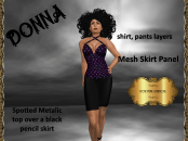 [RPC] Donna in Purple Spots