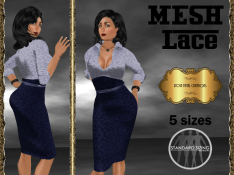 [RPC] MESH ~ Lace in Blue