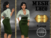 [RPC] MESH ~ Lace in Green