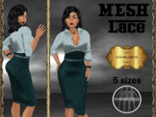 [RPC] MESH ~ Lace in Teal