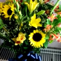 Little Falls Sunflowers - by ROSE PETALS FLORIST