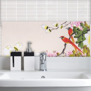 Image of Art Japonisme Feature wall tiles from forthefloorandmore.com