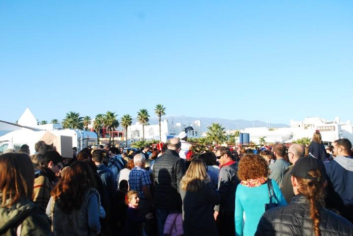 It's a big crowd draw!