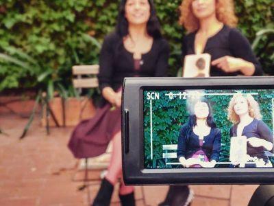 Visto Lo Visto TV   Entrevista very hot a Victor Amela, Roser Amills y Joan Spin
