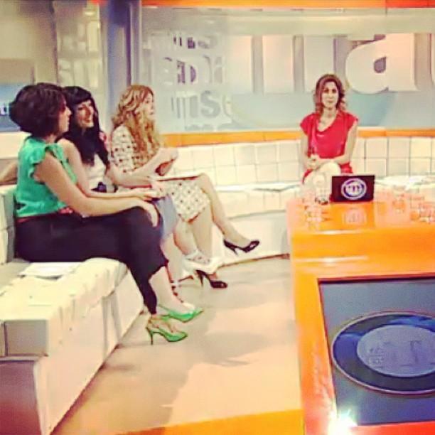 Helena garcia melero y roser amills a TV3