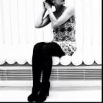Roser Amills retrato BN de Ana Coello