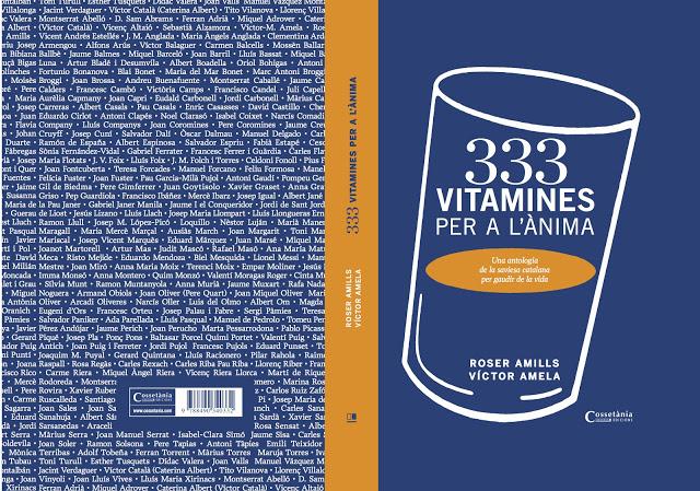 333 vitamines per a lanima coberta roser amills i victor amela