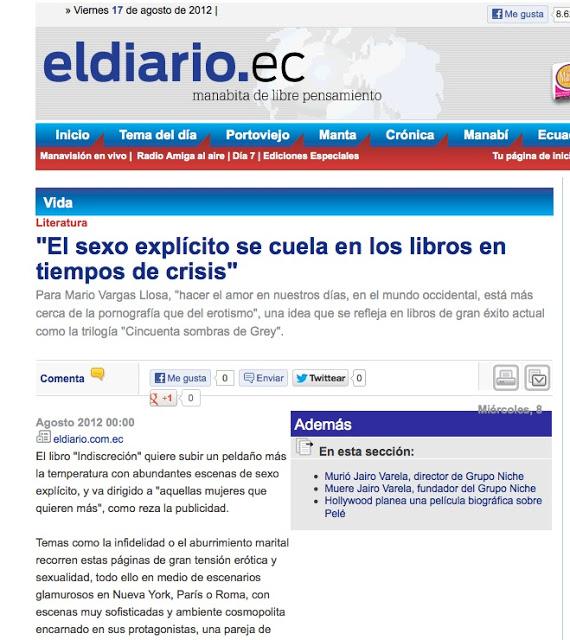 diario de ecuador sexo roser amills fantasias eroticas