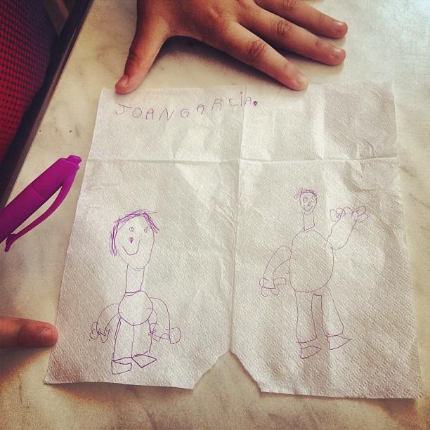 dibujo de juanito para su madre roser amills
