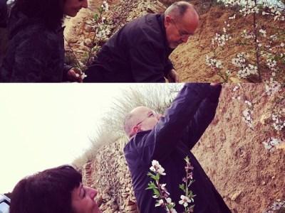 En estas fechas, hace unos años, este gran hombre me regaló un ramo de flores de almendro. Descansa en paz, Bigas Luna
