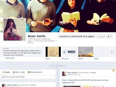Ya somos 9.000 en Facebook: ¡¡mil gracias por vuestra complicidad!!