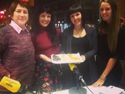 Catalunya Ràdio | Avui a #miliunanits la @HelenaAL fa anys!!! Amb @gemmalienas i @hln_gale FELICITATS!!