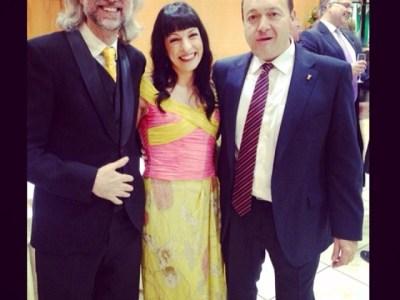 Con Constantino Mediavilla y Víctor Amela #premiosapei2014