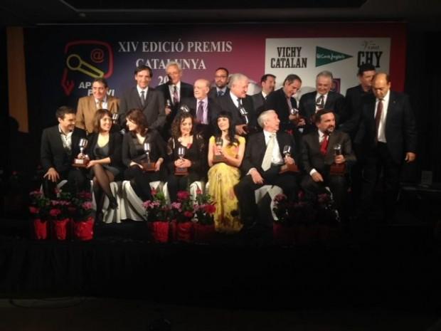 foto de grupo premios apei 2014 vichy catalan 7