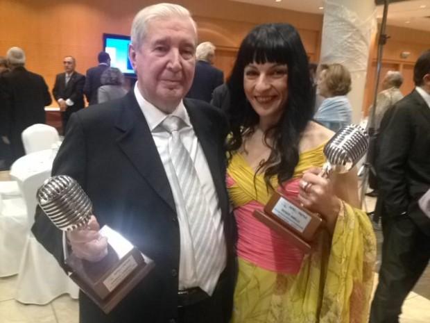 gabriel sampol y roser amills premios apei 2014