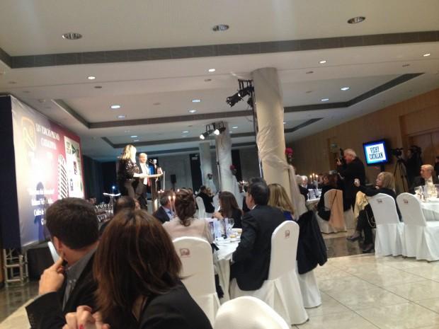 gala premios apei 2014 cena de gala