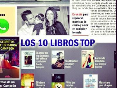 #fesbondat a la llista de llibres top de la revista Sport&Style de #santjordi!!