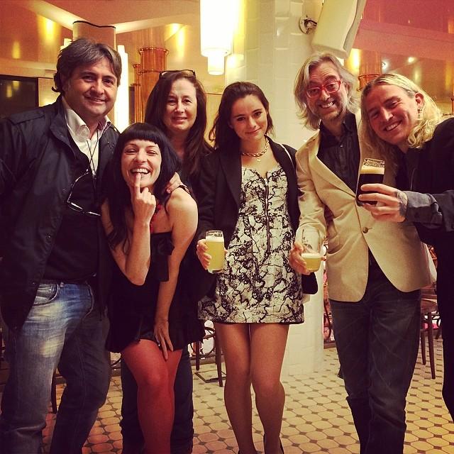 Nos lo estamos pasando pipa!!! 58º Premis Sant Jordi del Cinema a l'antiga fabrica Estrella Damm jijiji