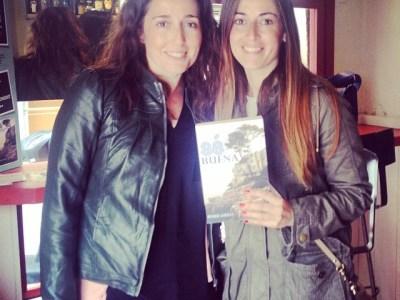La visita a #sébuena en @pepatomate de @lazuecaabalorios y su guapísima hermana ha sido un alegrón!!