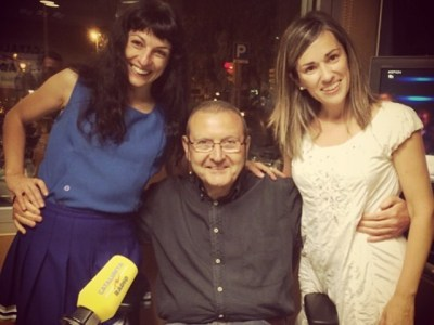 Ara en directe a @catalunyaradio #miliunanits amb Emma Ribas i Adolf Tobeña :))