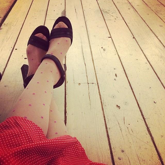 A veces sentarse en el suelo es la mejor opción ;))