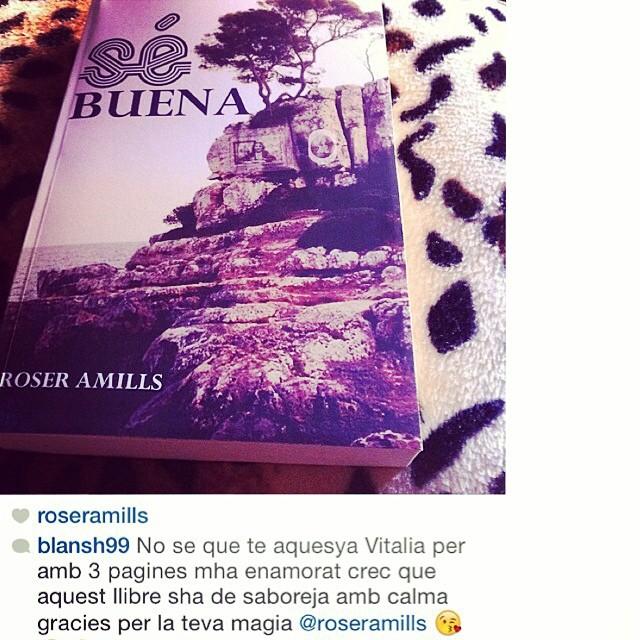 Buenos días! El club de lectores y lectoras de #sébuena no para de crecer! Gràcies @blansh99 ;))