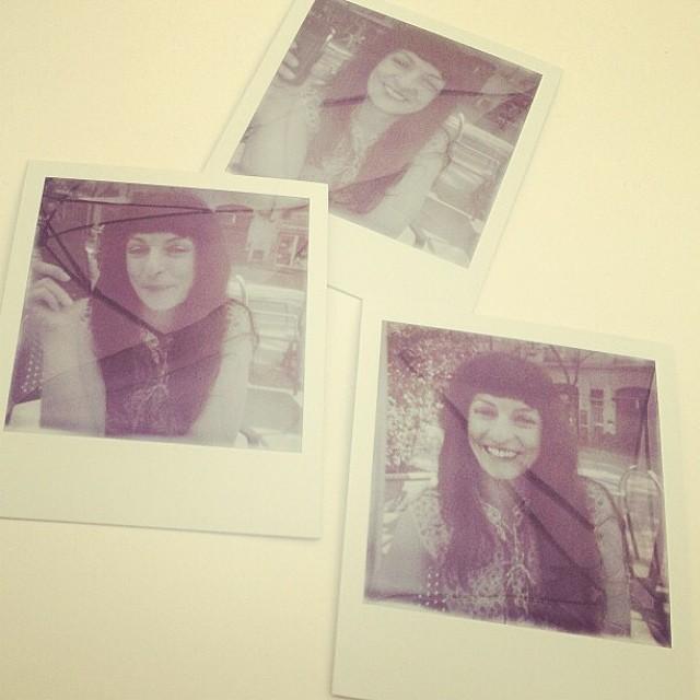 Hace día de #polaroids en BN :))