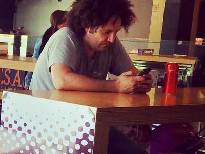 """He encontrado a """"Actor secundario Bob"""" de los Simpson en Tarragona ;))"""