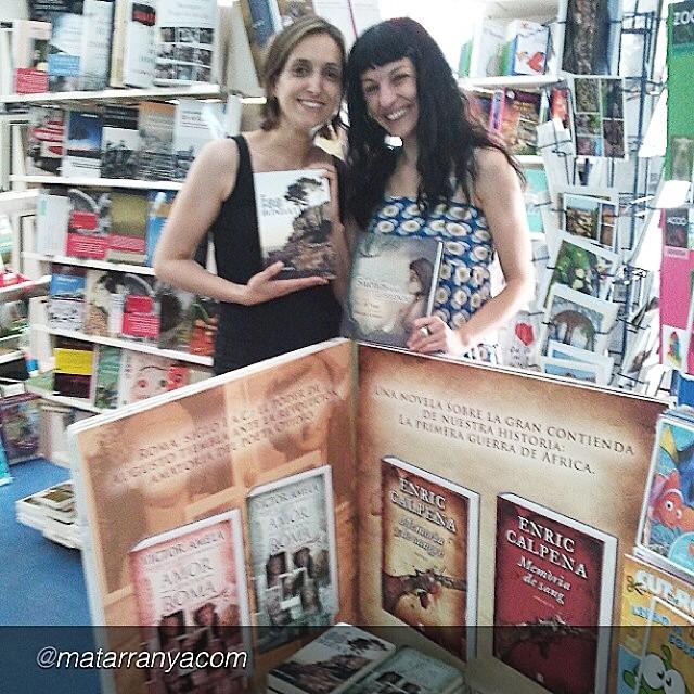 roser amills en la libreria serret