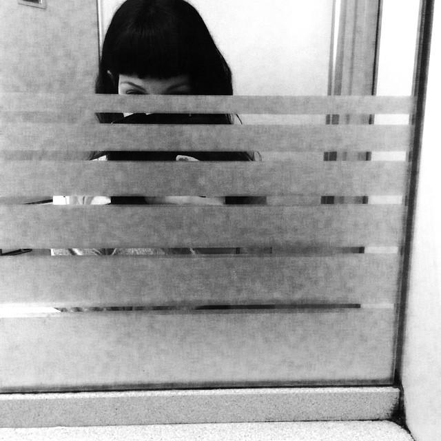 roser amills selfie lavabo tren ave madrid barcelona
