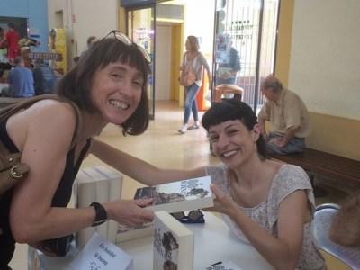 Con grandes lectores y lectoras como Irene hoy se han agotado todos los ejemplares en Vilanova!