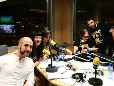 Catalunya Ràdio | Làtex, vinil i la roba de #BDSM amb Josep Lapidario, Ignasi Puig Rodas, #ATobeña i la #Marta, model de roba de làtex :))