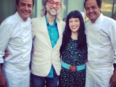 Con los @hermanostorres Sergio&Javier #doscielos IMPRESIONANTE ;))