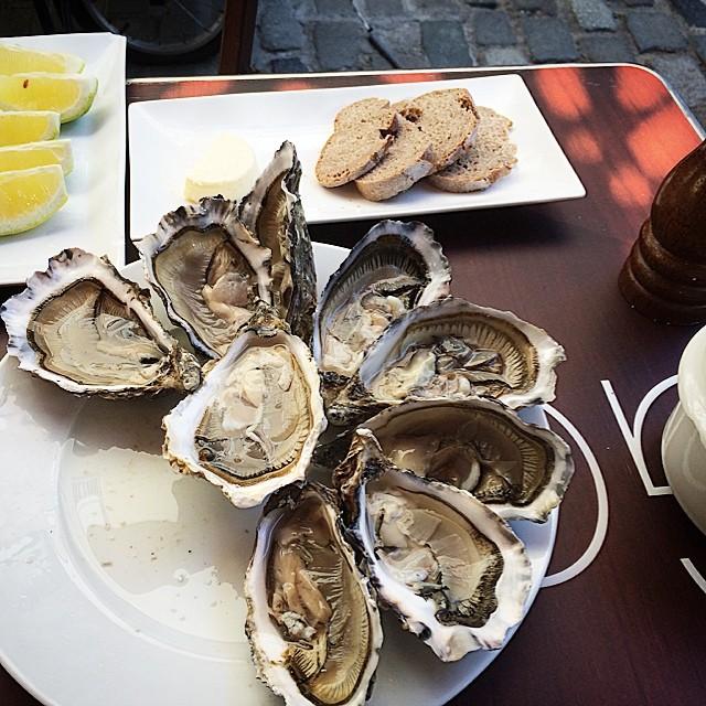 plato de ostras en barcelona