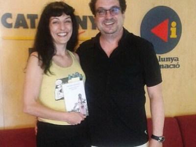 El David Castillo ha estat el meu acompanyant avui a #8dies de @catalunyaradio amb @mireiamallol !!