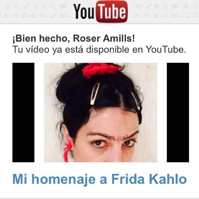roser amills homenaje a frida khalo youtube