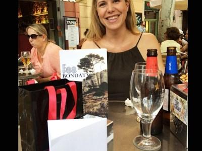 Meravellosa Mar Villa Valls que ha vingut a buscar #fesbondat i jo aniré a Terrassa a #MarCentre a posar-me bonica com ella!!!