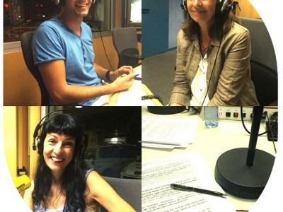 Ara, en directe, a #miliunanits de @catalunyaradio ;))