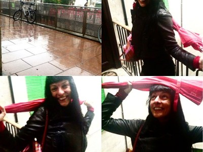 Llueve en Barcelona al amanecer ;))