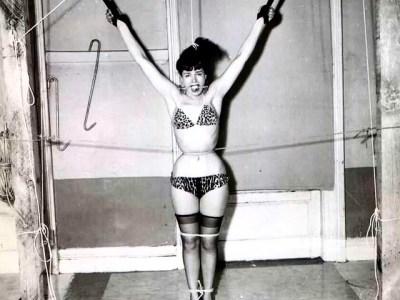 Bettie Page atada y bien atada #soyfan ;))