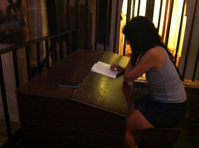 roser amills bibiloni llegint a mallorca