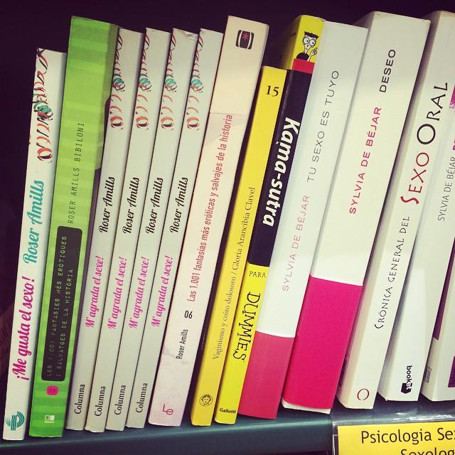 Libros de Roser Amills sobre erotismo