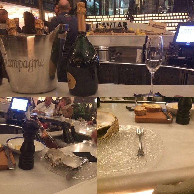 Ostras y champán ;))
