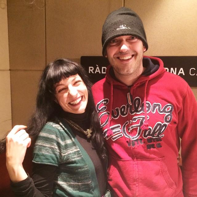 La Ser | Aquí amb @jimabel79 el becari del programa Espècies protegides ;))
