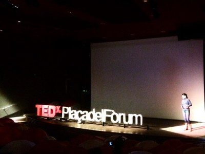 Quin plaer tan gran explicar el meu petit granet de sorra al #TEDxPDF mundial!!