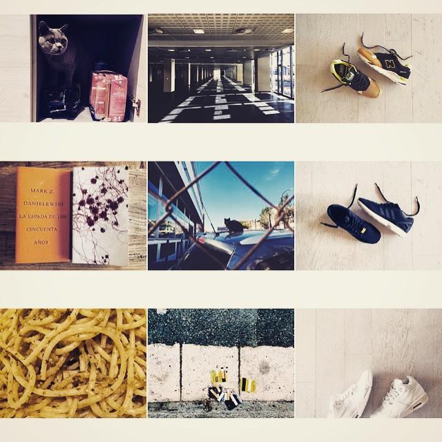 Atención a las fotos de David Broc ordenaditas (zapatillas columna de la derecha)