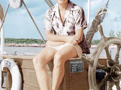 El Zaca de n'Errol Flynn en el Club Náutic de Palma