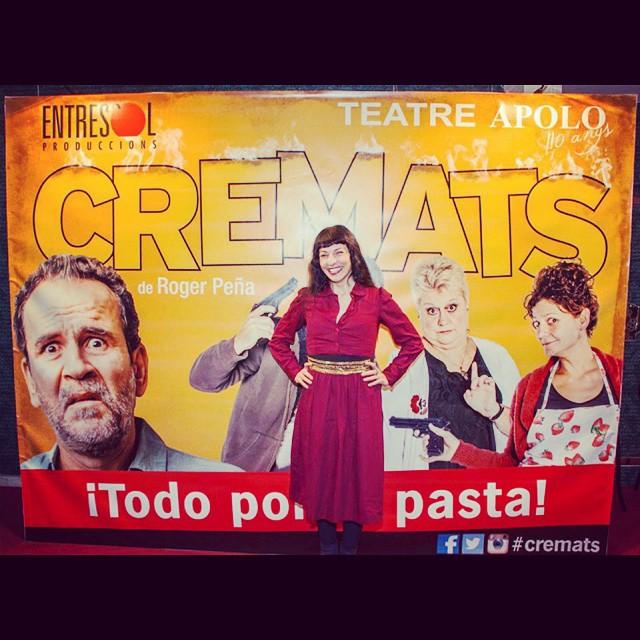 Frío, lluvia... Caliéntate el alma con teatro #cremats ;))